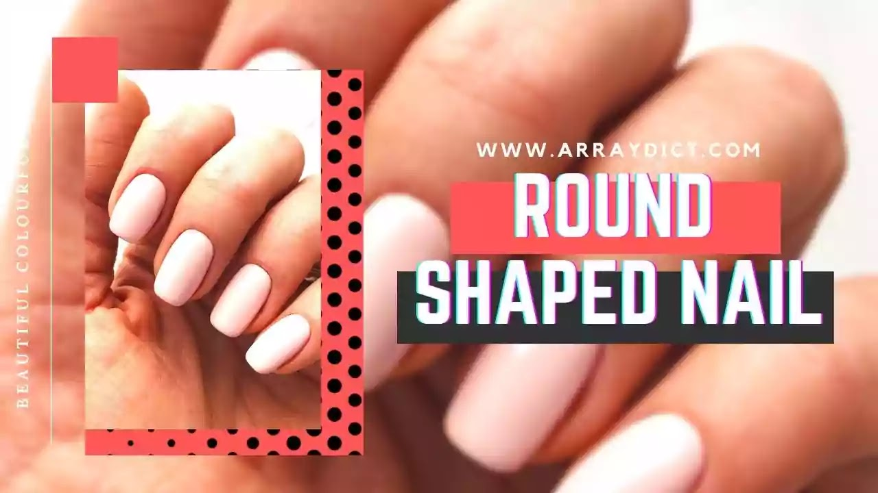 avoid round shape nails for small chubby fingers