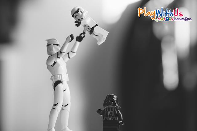 jouets rétro star wars TRU