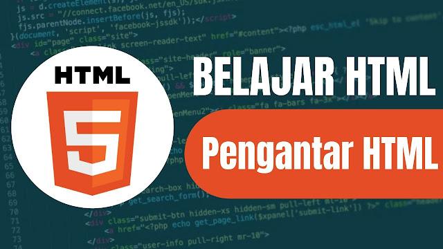 pengantar html