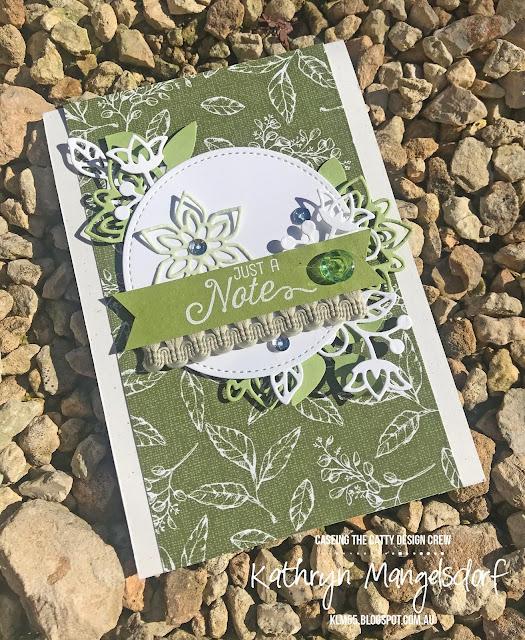 Stampin' Up! Flourish Dies, Designed by Kathryn Mangelsdorf