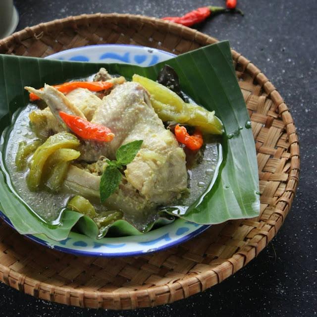 Resep Garang Asem Ayam Potong