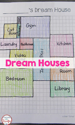 STEAM Challenge: Design your dream house using graph paper and a great imagination!