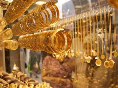 أسعار الذهب تهبط من جديد.. والجرام يفقد 7 جنيهات في السوق المحلي