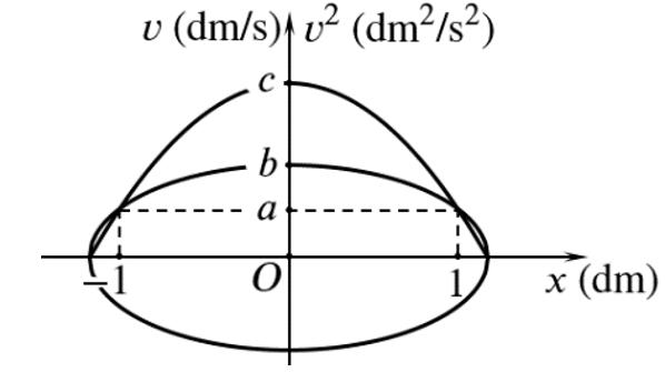 Đồ thị vận tốc - li độ trong dao động điều hòa