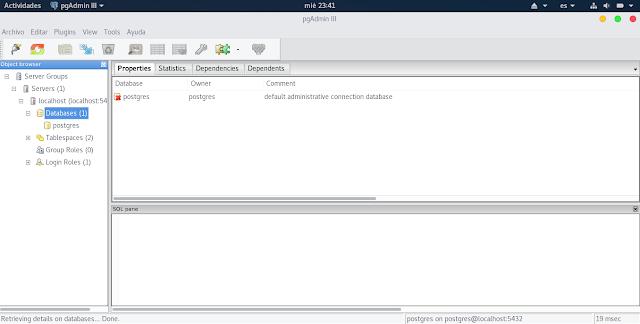 Instalar y configurar Postgresql en Apricity OS