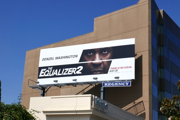 Equalizer 2 film billboard