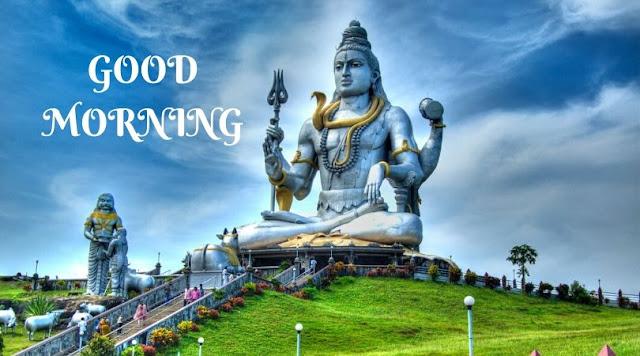 monday good morning images god shiva