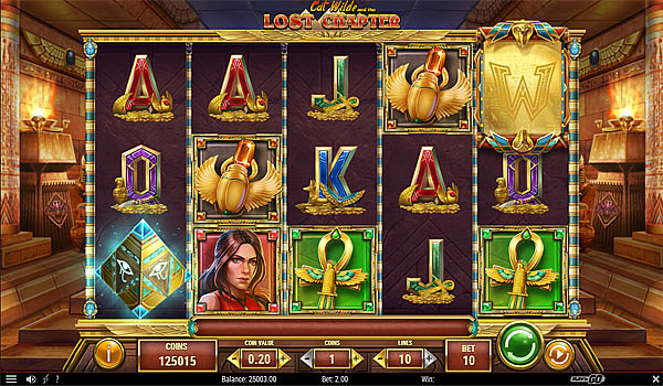 Main Gratis Slot Indonesia - Cat Wilde and the Lost Chapter Play N GO