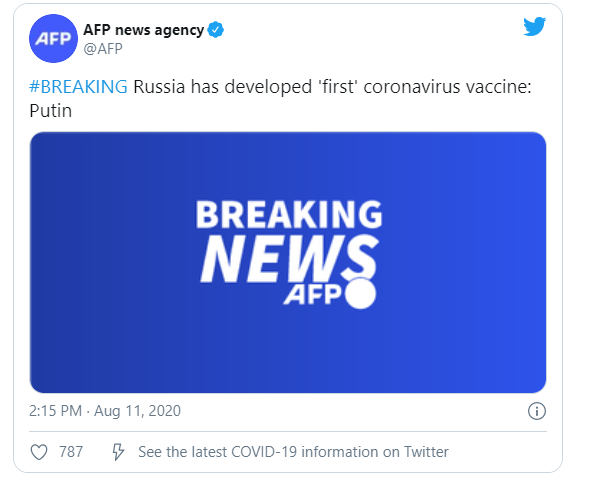 """Dr.Fauci on Russia's Coronavirus Vaccine: """"I Seriously Doubt That it's Safe and Effective"""""""