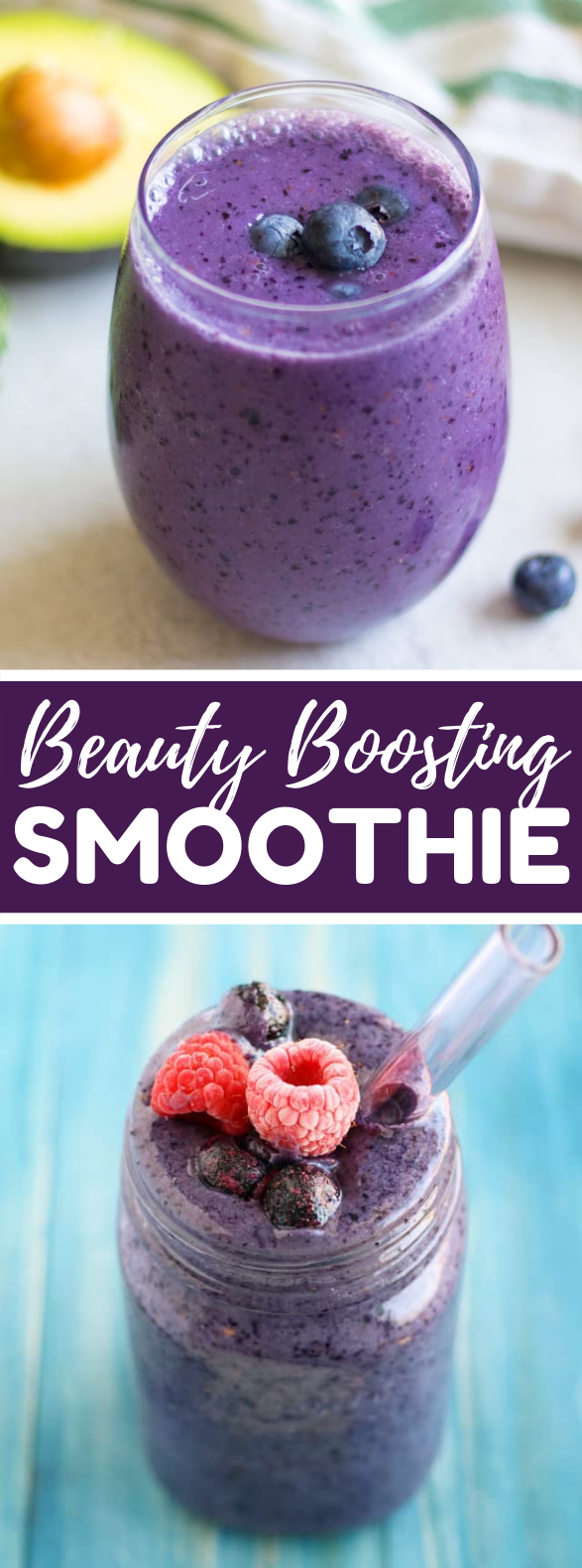 Berry Beautiful Smoothie #drinks #antioxidant