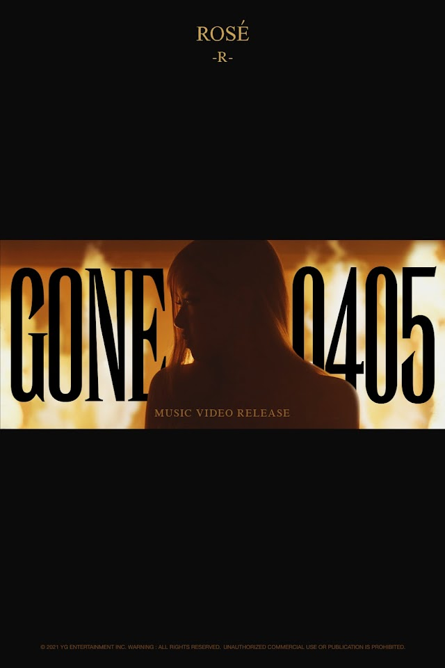 YG Entertainment release a new teaser for BLACKPINK ROSÉ 'Gone' MV on April 5, Knetz gets excited.