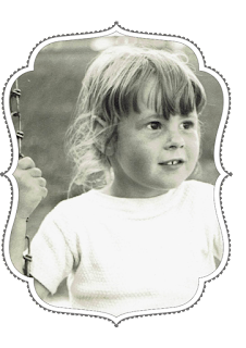 Barrie Summy, author, as a child