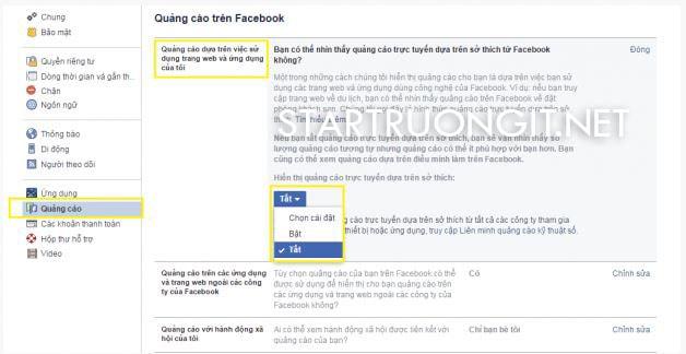 Hướng dẫn tắt quảng cáo Facebook trong nháy mắt