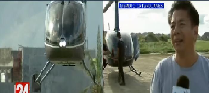 5 Milyon agad ang binigay ni Willie Revillame sa Catanduanes, siya mismo ang nag piloto sa kanyang helicopter para makapunta dito ng mabilisan