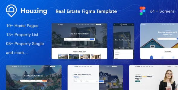 Best Real Estate Figma Template