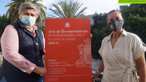 Los Llanos de Aridane celebrará una gala de reconocimiento a los servicios esenciales Covid-19