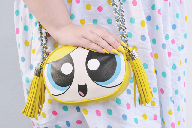 Moschino Powerpuff Girls Bubbles Bag