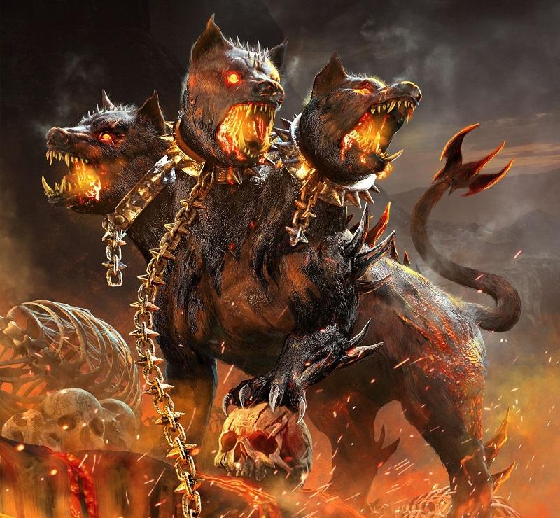 Cérbero, o Cão de Três Cabeças