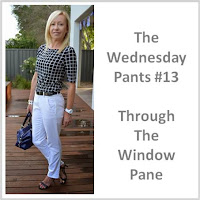 Sydney Fashion Hunter - The Wednesday Pants #13 - Through The Window Pane