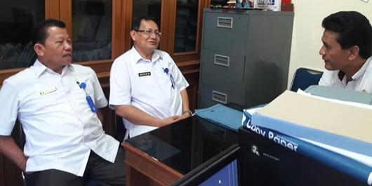 DPRD Padang Terima Kunjungan Sekwan DPRD Pasaman