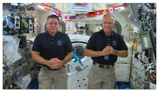 NASA astronauts Robert Behnken and Douglas Hurley lands safely in SpaceX's Crew Dragon spacecraft into the Gulf of Mexico