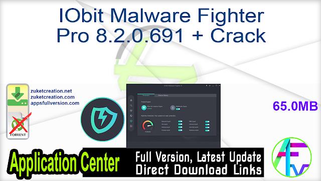 IObit Malware Fighter Pro 8.2.0.691 + Crack
