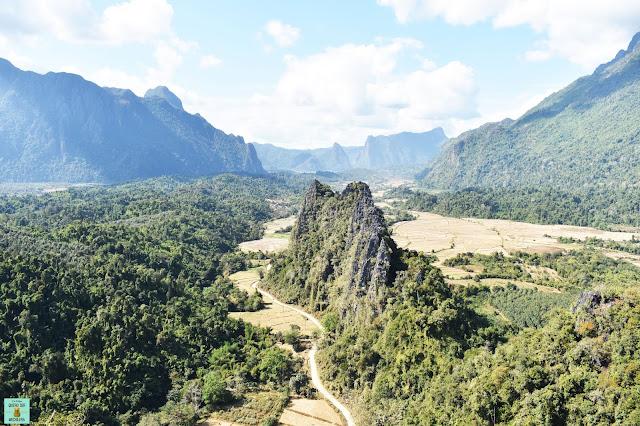 Vang Vieng en Laos
