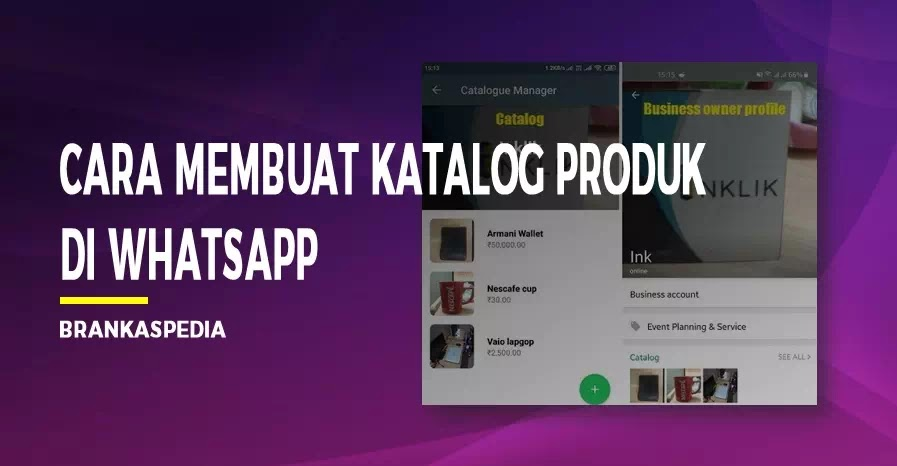 cara membuat katalog produk di whatsapp