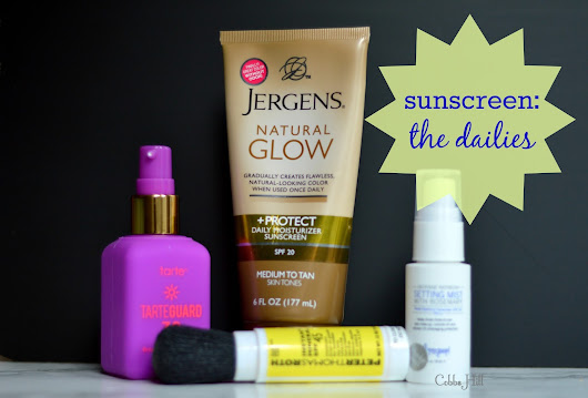 Sunscreen: The Dailies