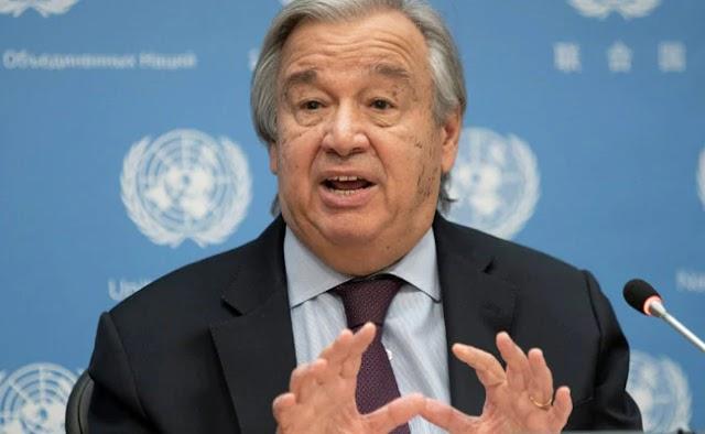 Israel and Palestine must both stop fighting immediately ; Antonio Guterres