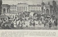 Hollandse troepen trekken zich terug op 26 september 1830