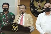 Mahfud MD : Pemerintah Akan Bersikap Tegas dan Melakukan Proses Hukum Penunggang Aksi Anarkistis