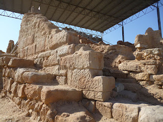 Contrebia Belaisca. Muralla s III a. C