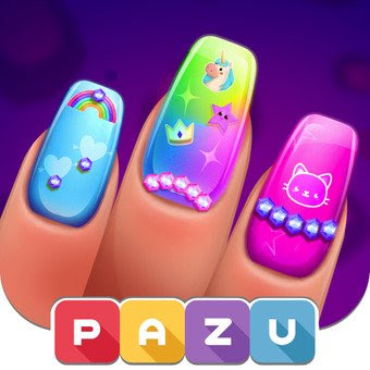 Girls Nail Salon – Manicure games for kids (MOD, Unlimited Money)