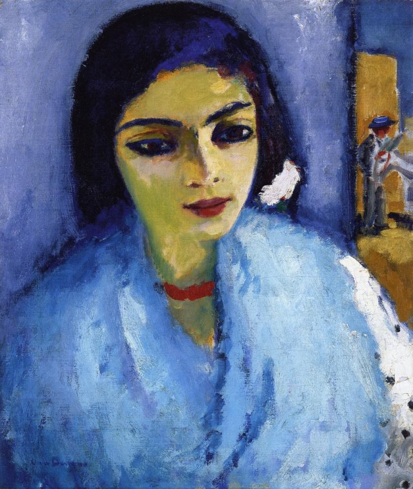 Kees van Dongen (1877-1968) , La femme au béret | Christies