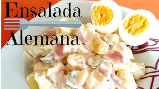 receta ensalada alemana-como hacer ensalada alemana casera