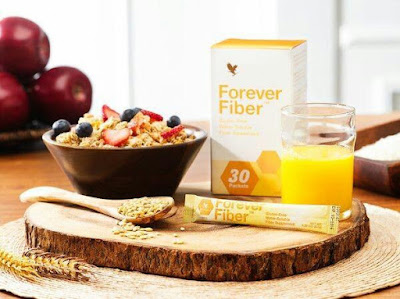Natural fiber from Forever Living Products.
