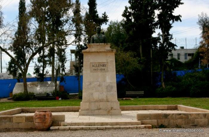 Field Marshal, Sir Edmund Henry ALLENBY Park (Beersheba)