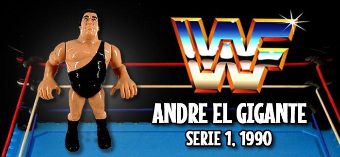 Figura Pressing Catch André el gigante (Hasbro, 1990)