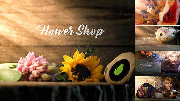 Flower Shop Promo [Wedding, Valentine's Day][Videohive][After Effects][19382577]