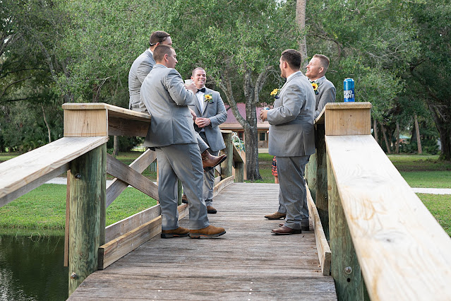 Groom and Groomsmen hanging out candid Magnolia Manor Wedding Photos by Stuart Wedding Photographer Heather Houghton Photography