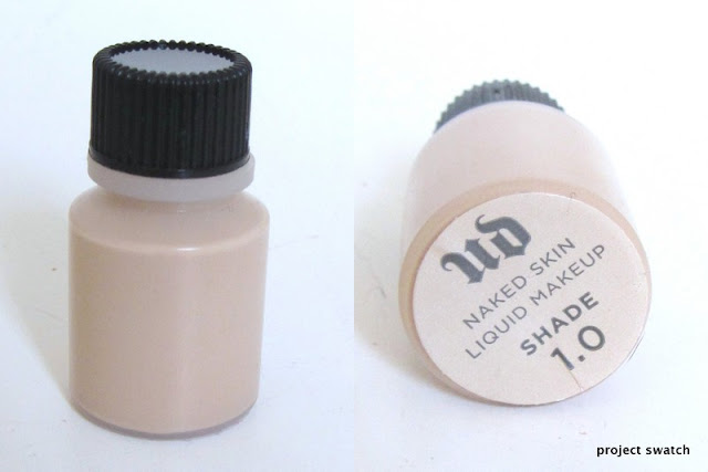 Urban Decay Naked Skin Foundation Review, Swatches, Photos
