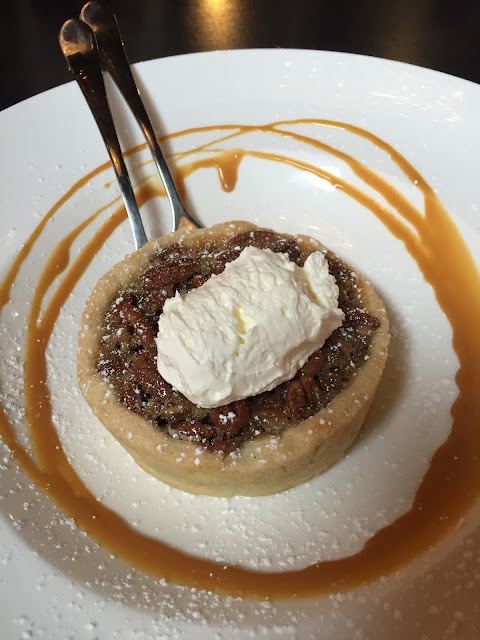 Decadent pecan pie from All Chocolate Kitchen in Geneva, Illinois
