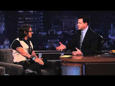 Johnny Depp And Jimmy Kimmel Chit-Chat
