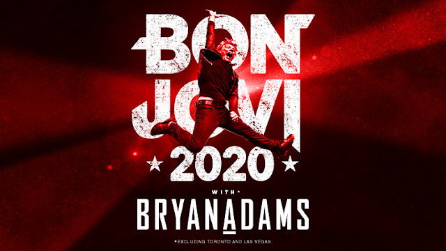 Bon Jovi announce 2020 New Album and Tour with Byran Adams
