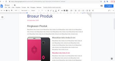 Mengubah Google Docs Menjadi File Microsoft Words