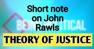 john rawls theory of justice