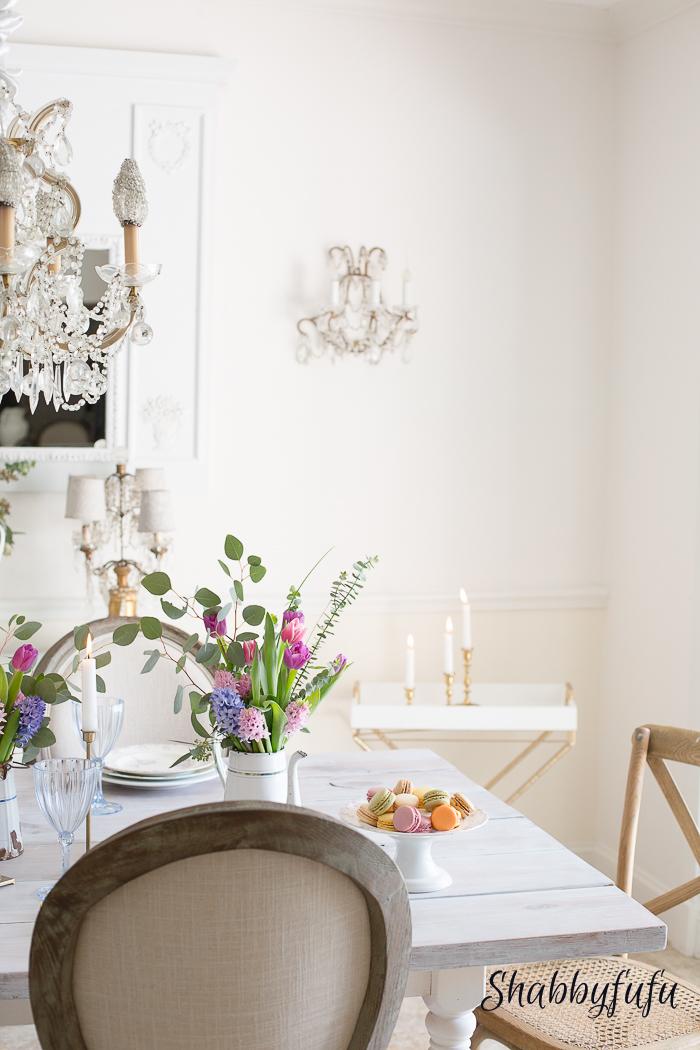 pastel dining room shabbyfufu