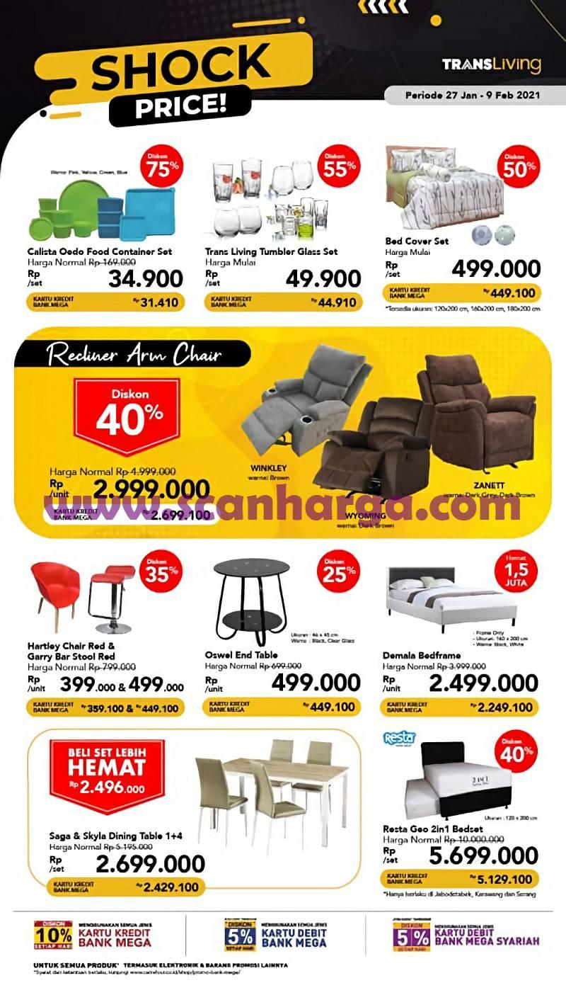 Carrefour Transmart Katalog Promo TRANSLIVING SHOCK PRICE