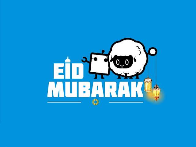 Eid Mubarak Text